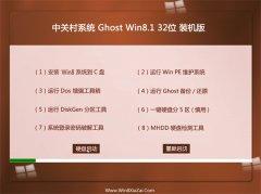 中关村Windows8.1 2021.04 32位 官网装机版